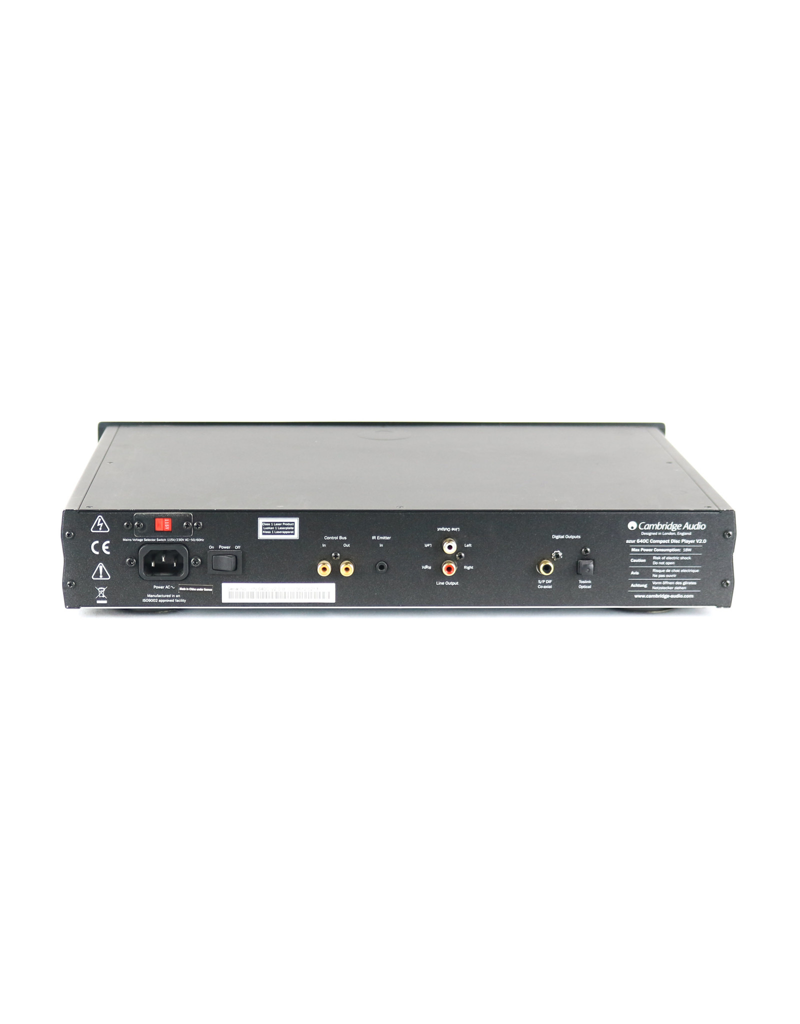 Cambridge Audio Cambridge 640C V2 CD Player Black USED