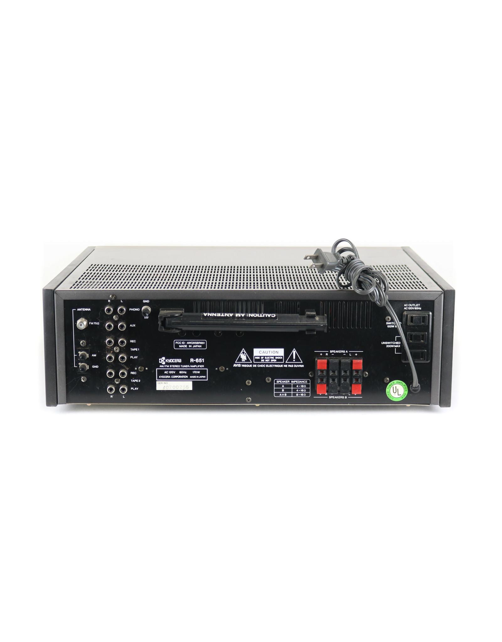Kyocera Kyocera R-651 Receiver USED