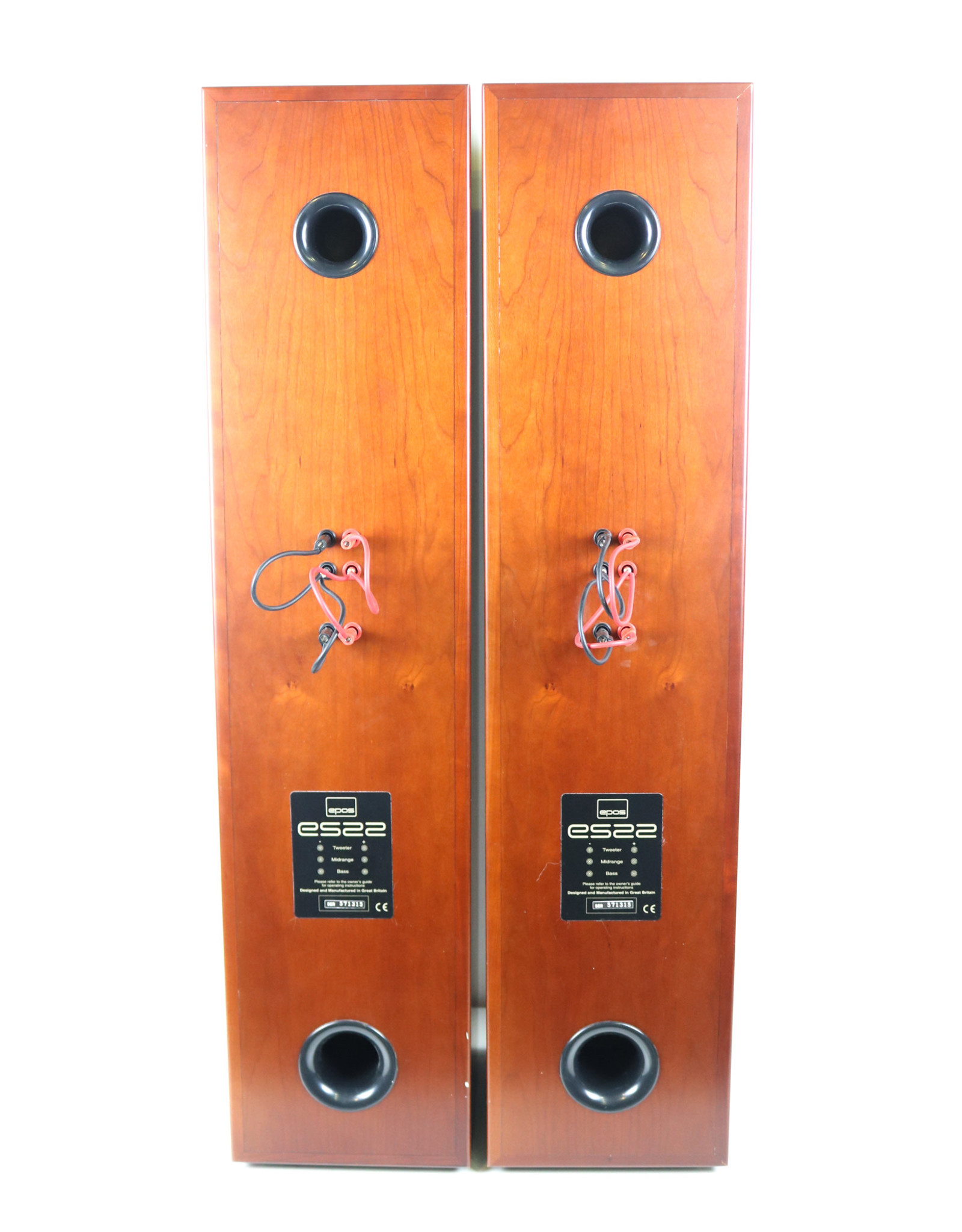 Epos Epos ES22 Floorstanding Speakers Rosewood USED