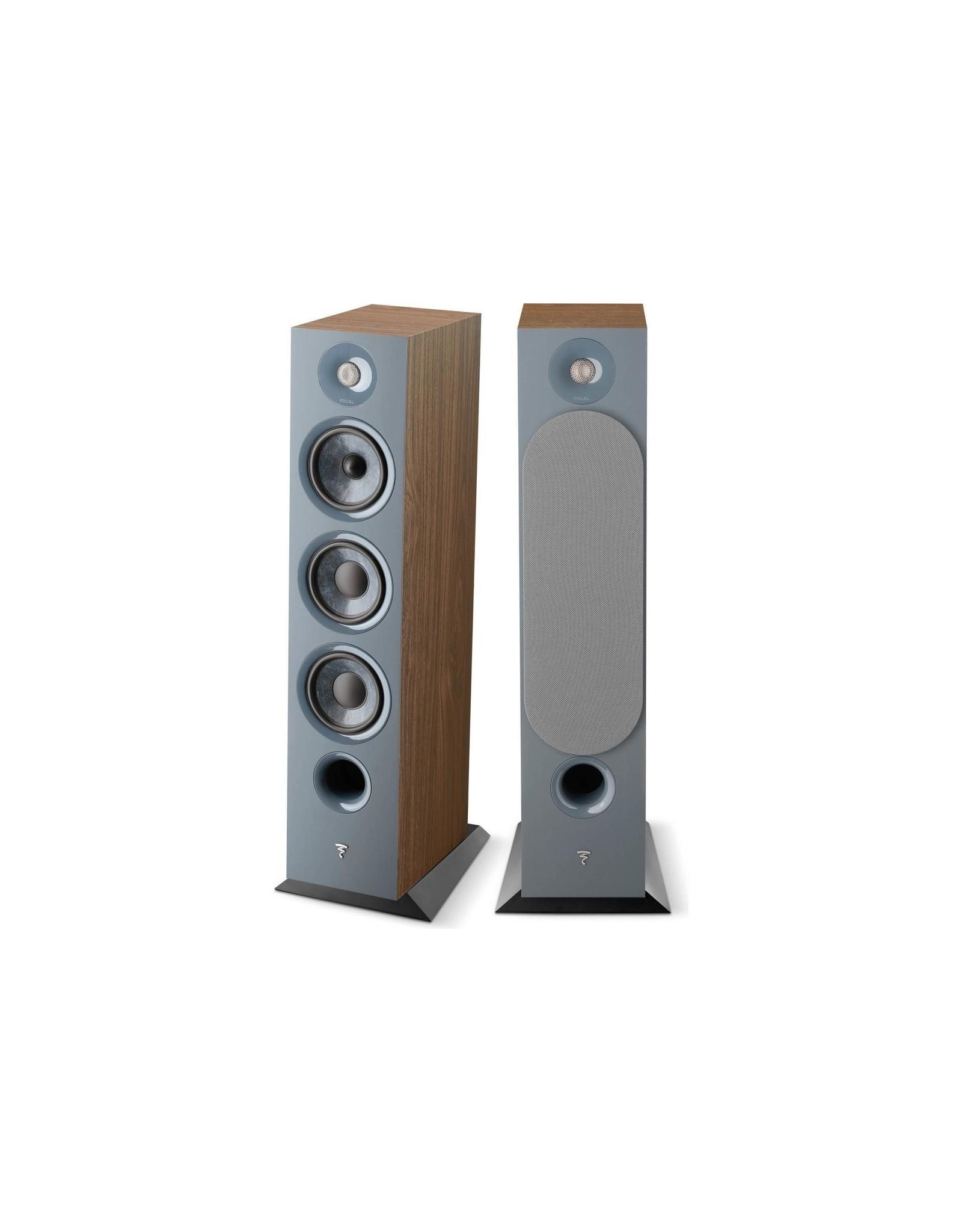 Focal Focal Chora 826 Dark Wood Floorstanding Speakers