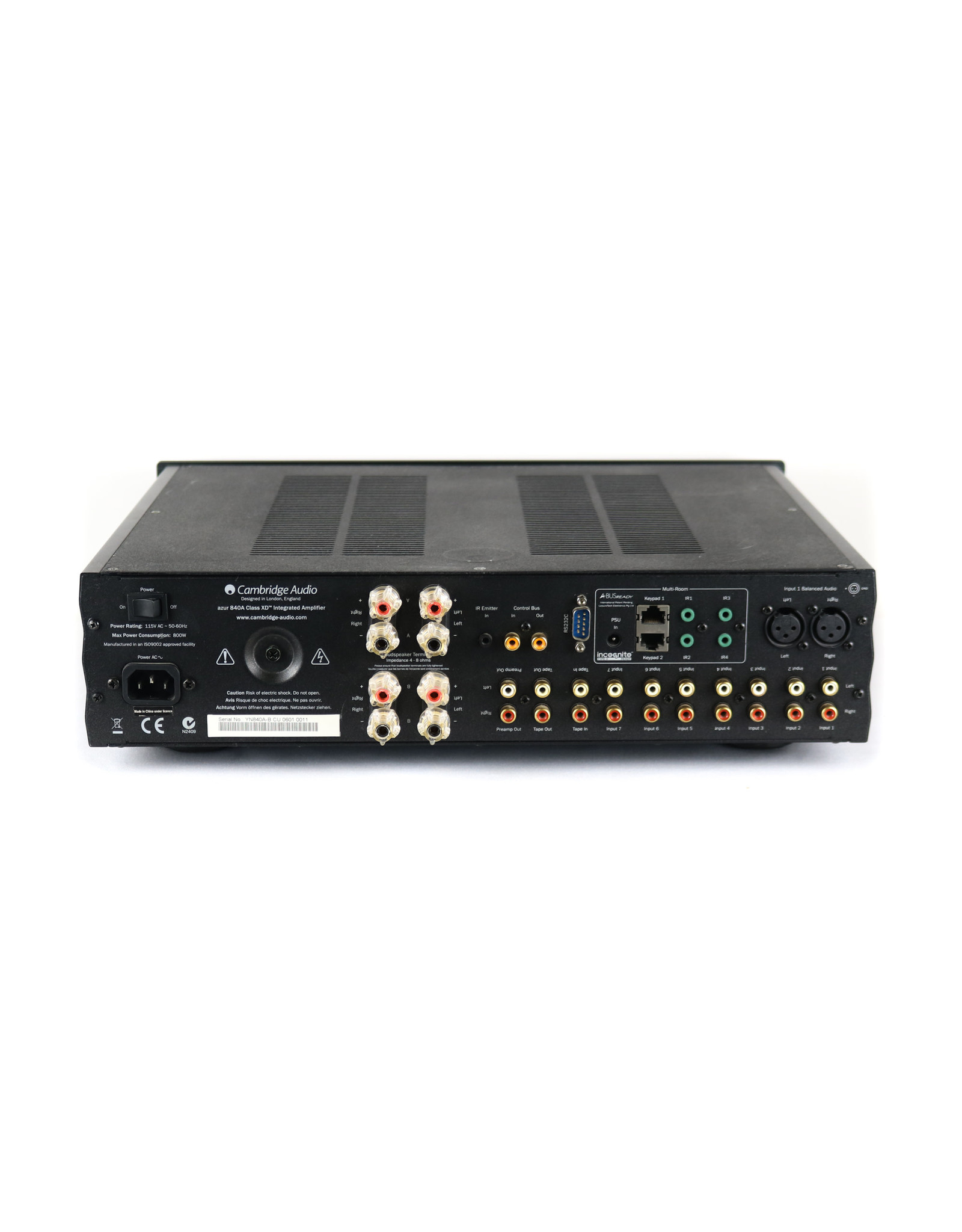 Cambridge Audio Cambridge Audio 840A Integrated Amp Black USED