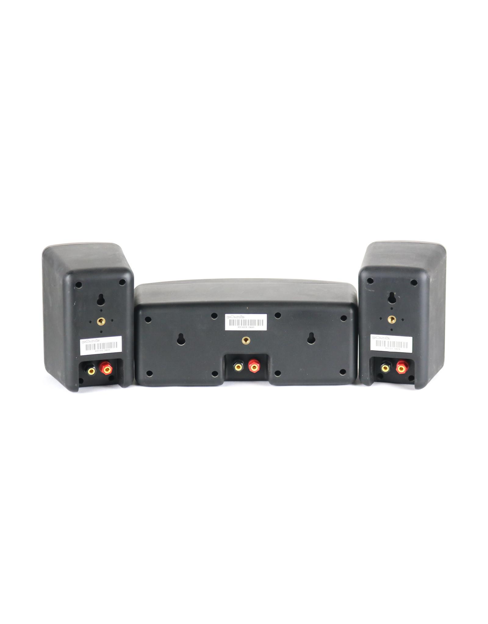 Polk Polk RM-1300 / RM-1600S Satellite + Center Speakers USED