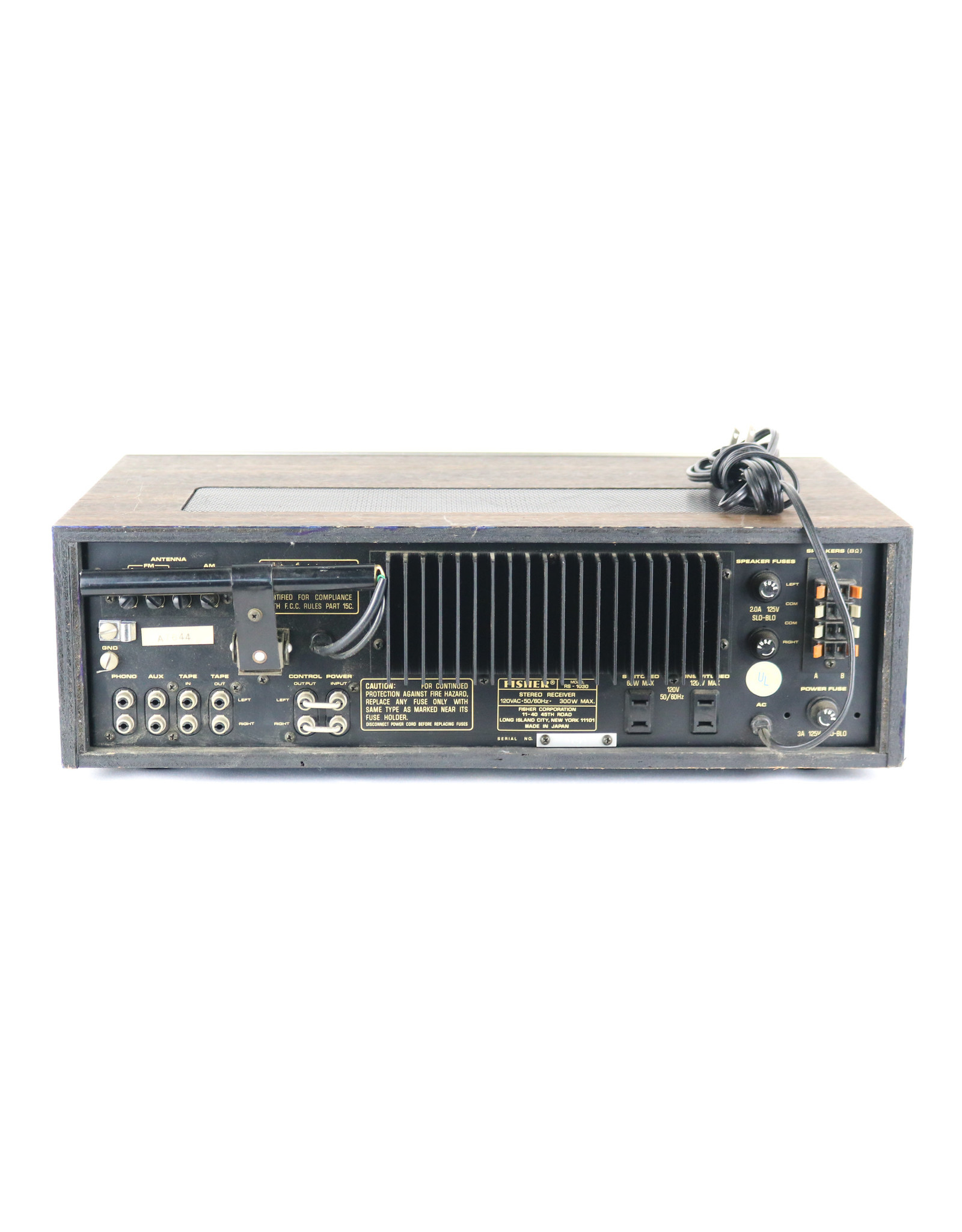 Fisher Fisher RS-1030 Receiver USED