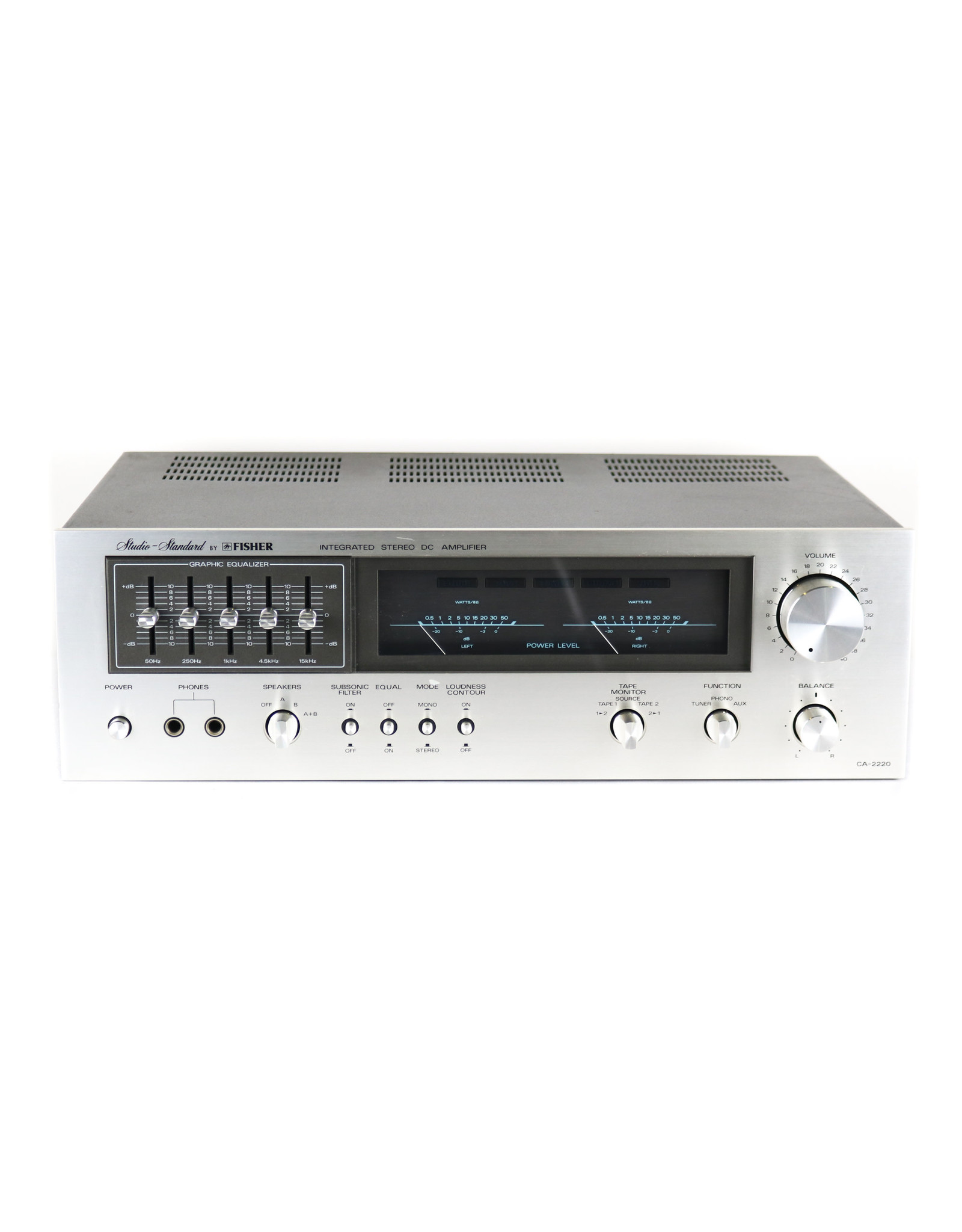 Fisher Fisher CA-2220 Integrated Amp USED
