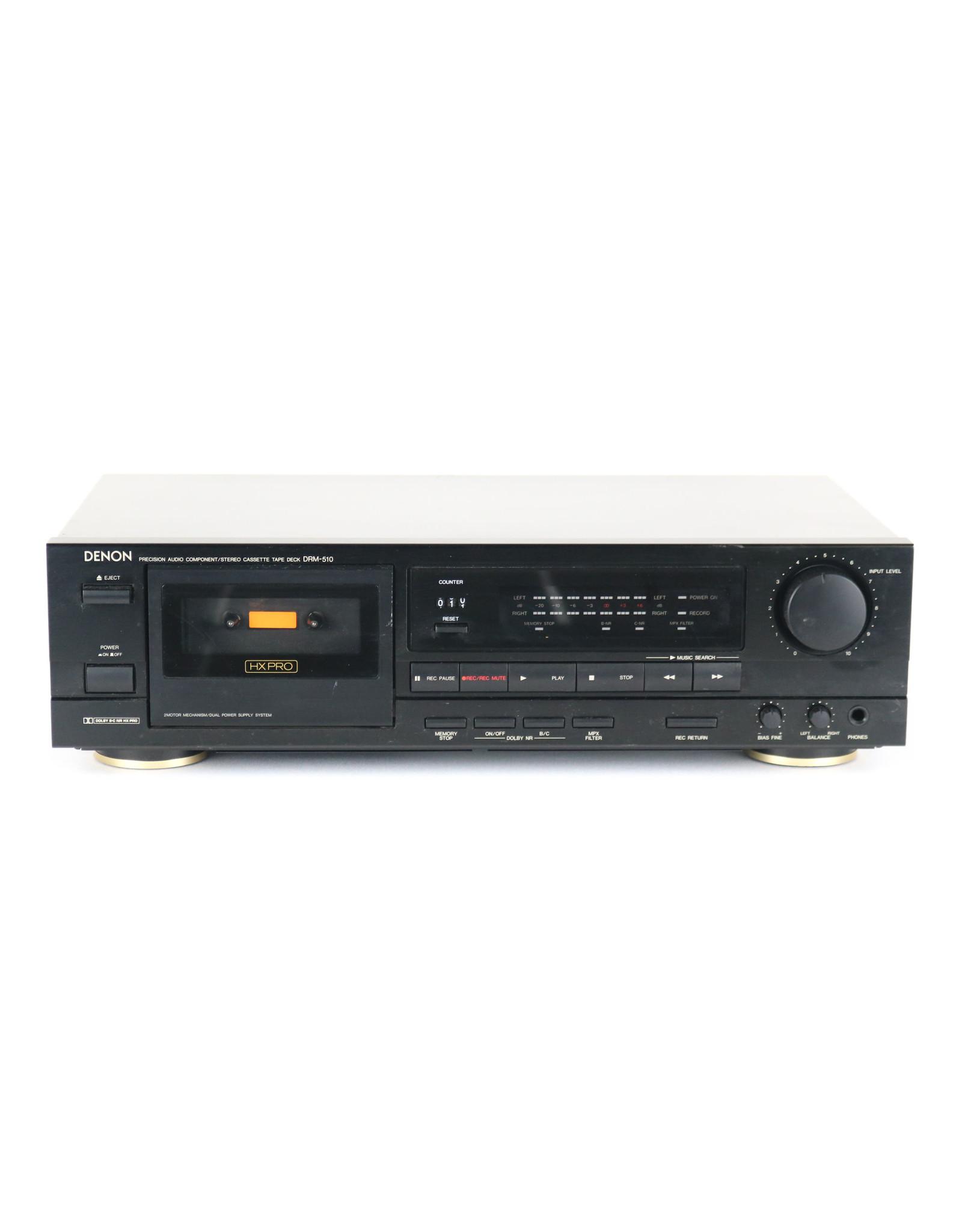 Denon Denon DRM-510 Cassette Deck USED