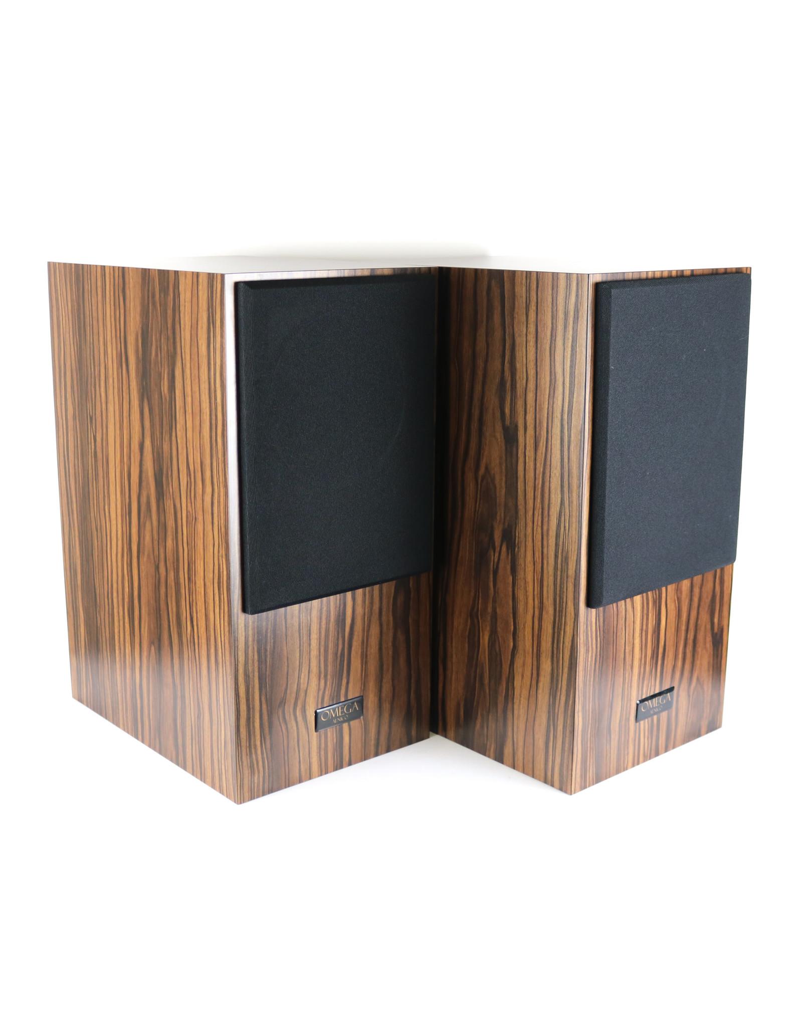 Omega Omega Super 6 Alnico Bookshelf Speakers USED