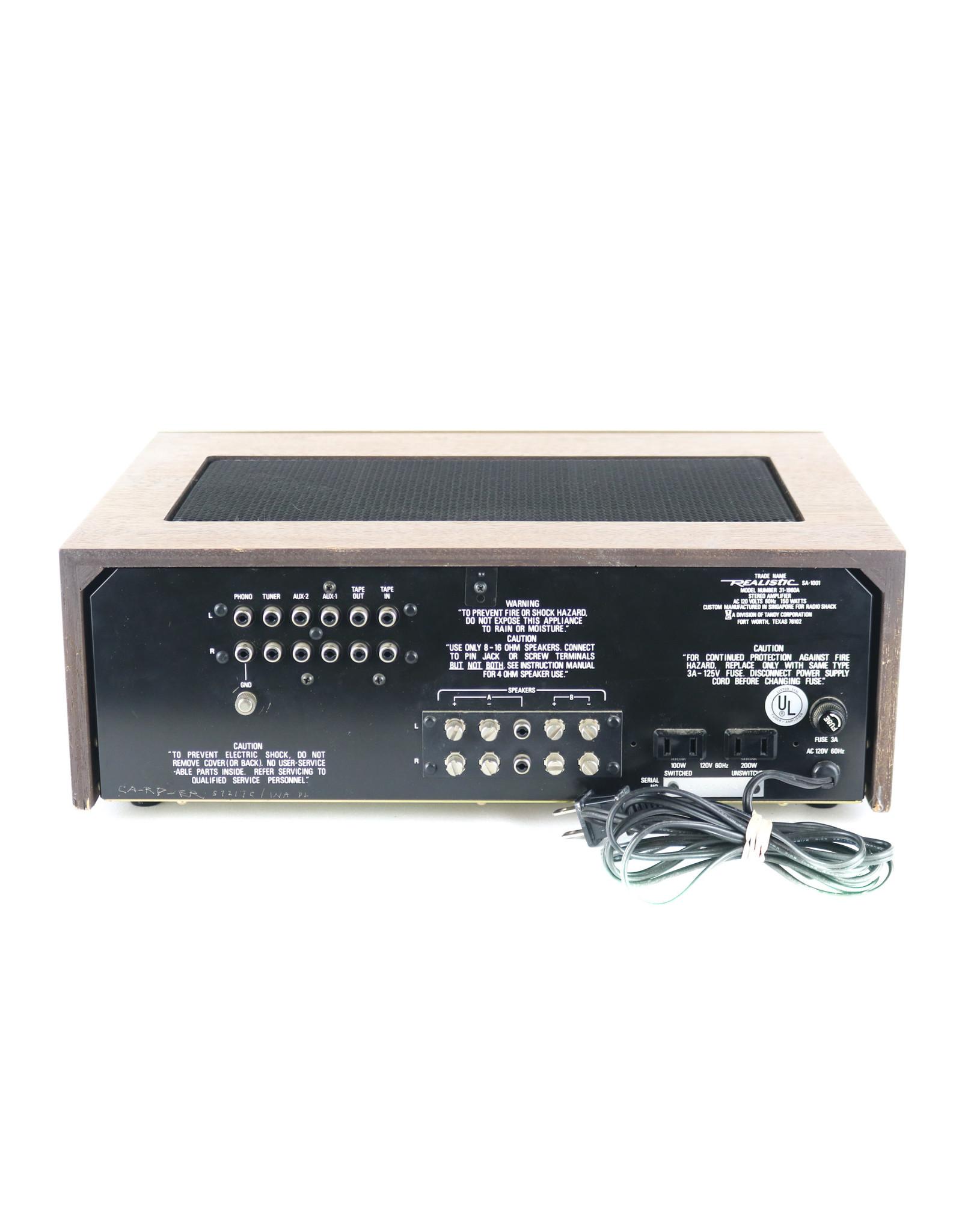 Realistic Realistic SA-1001 Integrated Amp USED