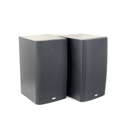 B&W B&W DM601 S3 Bookshelf Speakers Black USED