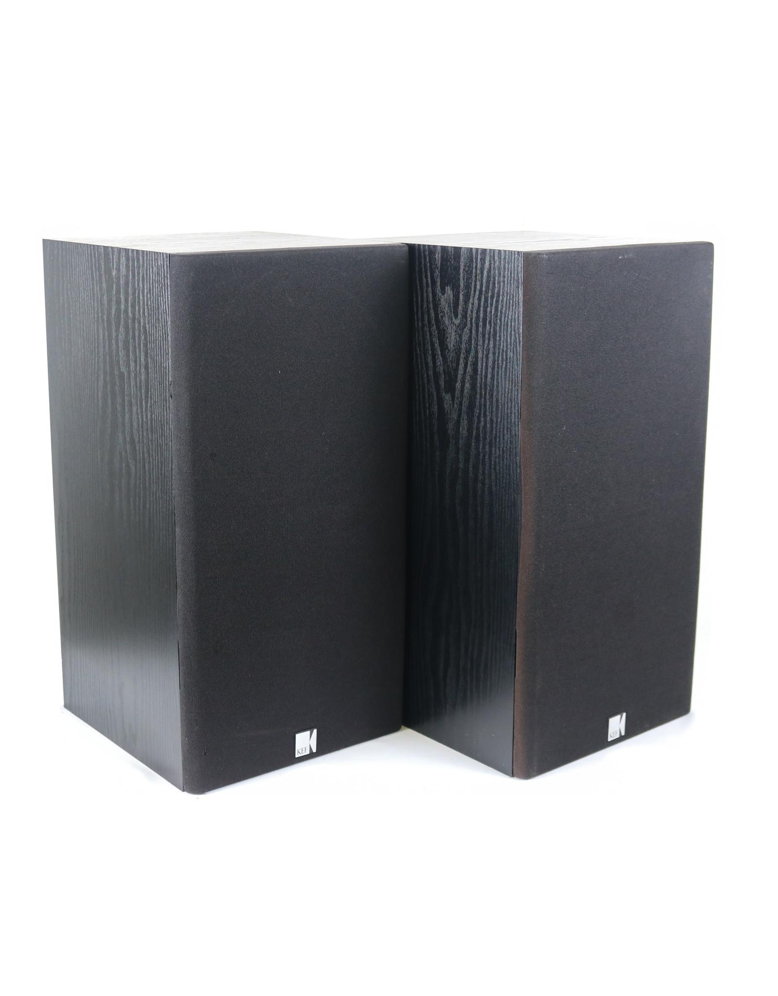 KEF KEF C55 Bookshelf Speakers Black USED