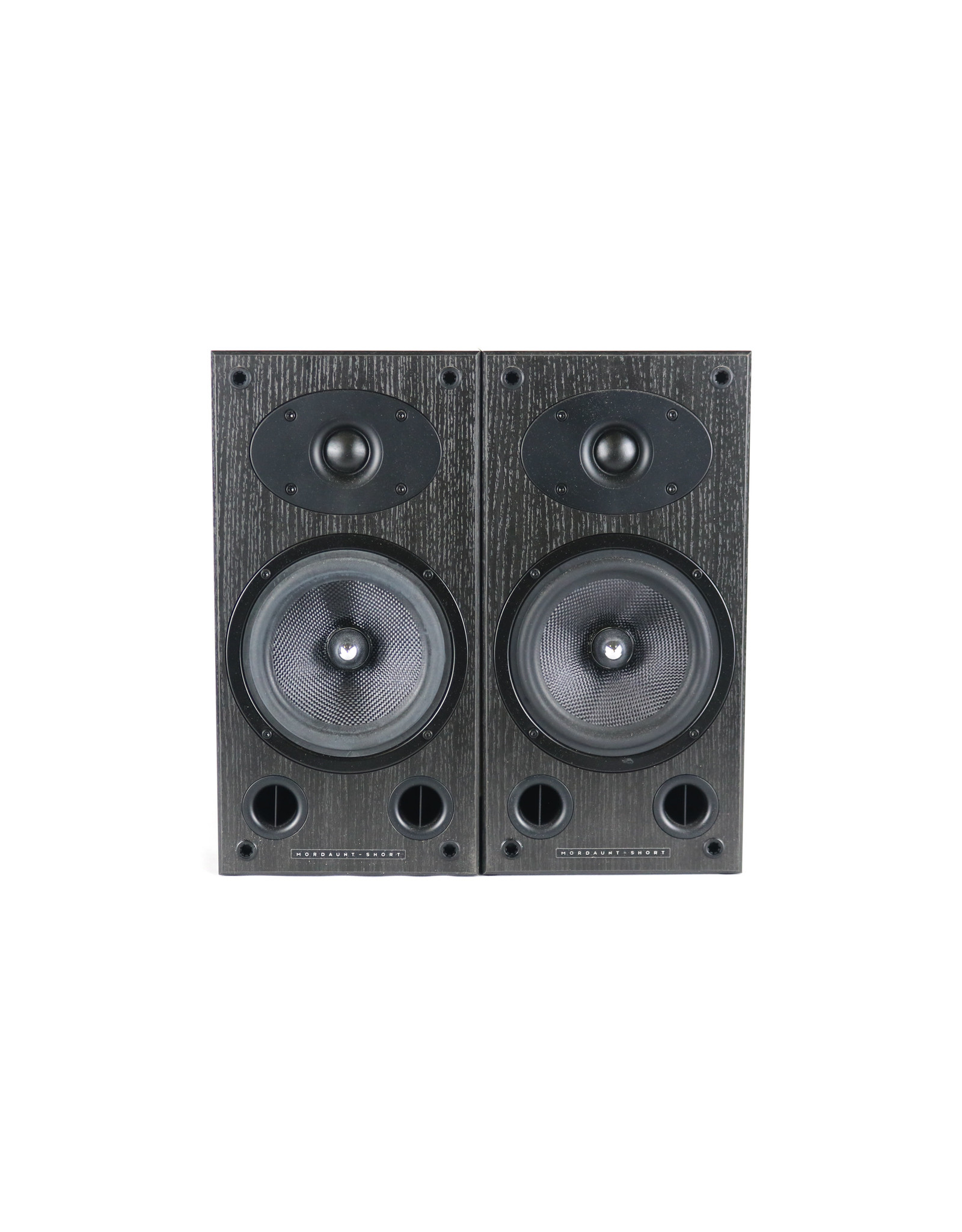Mordaunt-Short Mordaunt-Short Carnival 2 Bookshelf Speakers Black USED