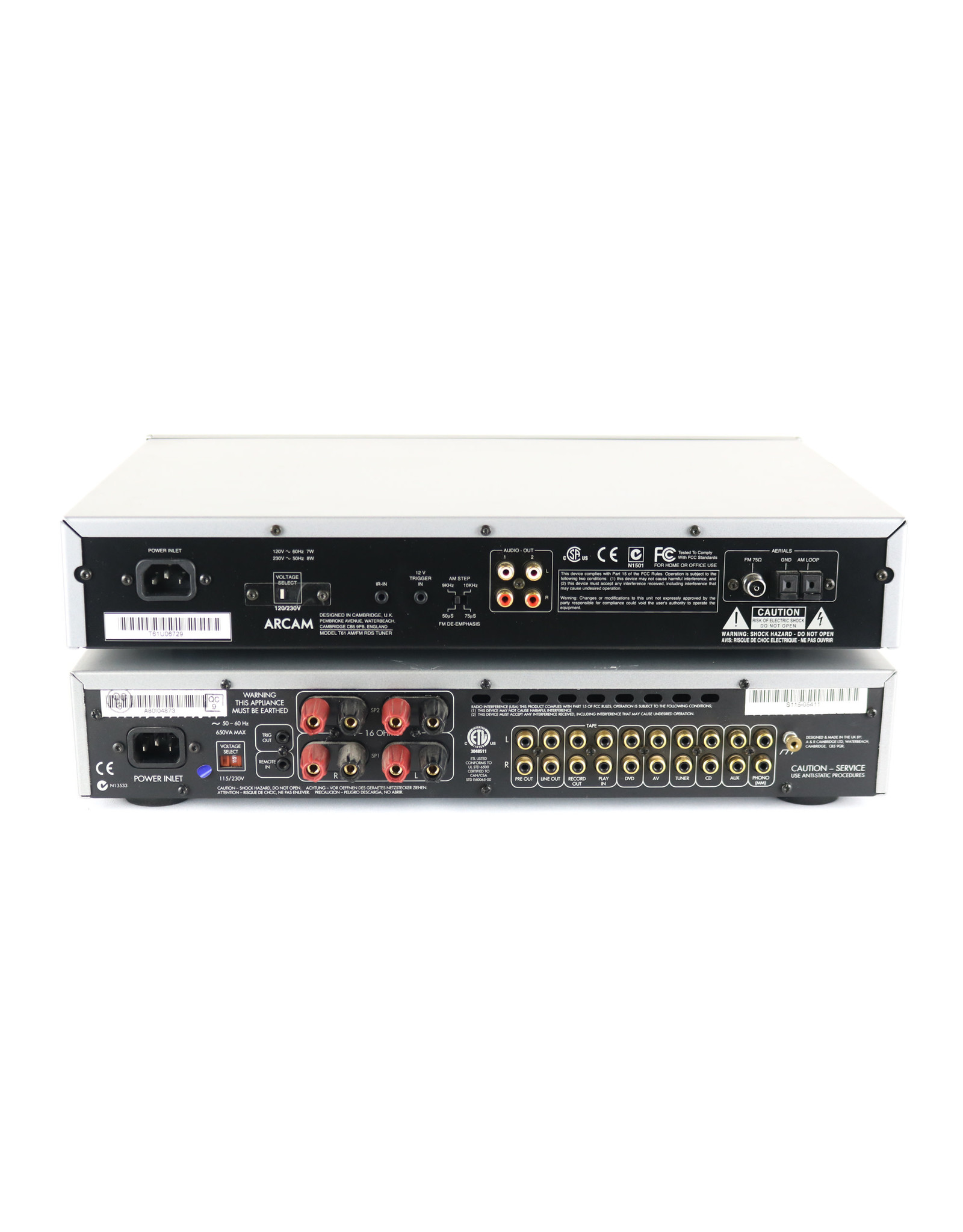 Arcam Arcam A80 + T61 Integrated Amp + Tuner Combo USED