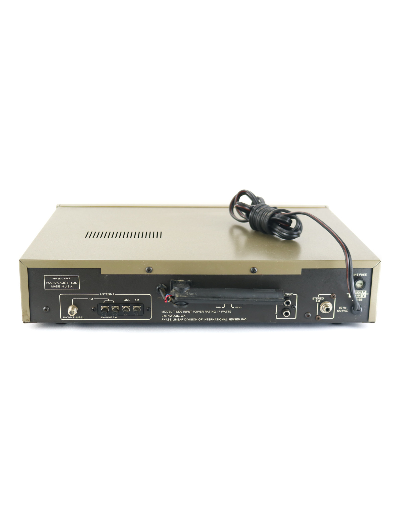 Phase Linear Phase Linear T-5200 Tuner USED