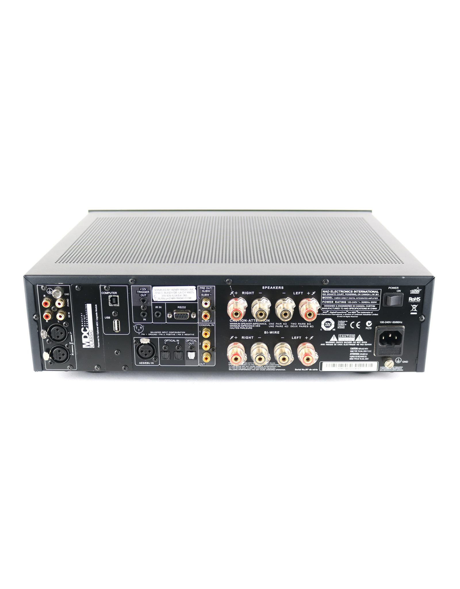 NAD NAD C 390DD Integrated Amp USED