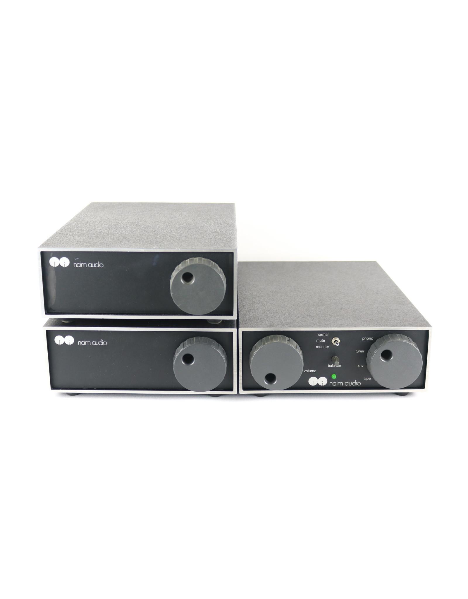 Naim Audio Naim Audio 62/HiCap/140 Pre+Power Combo USED