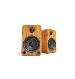 Kanto Kanto YU4 Powered Bluetooth Speakers Bamboo OPEN BOX
