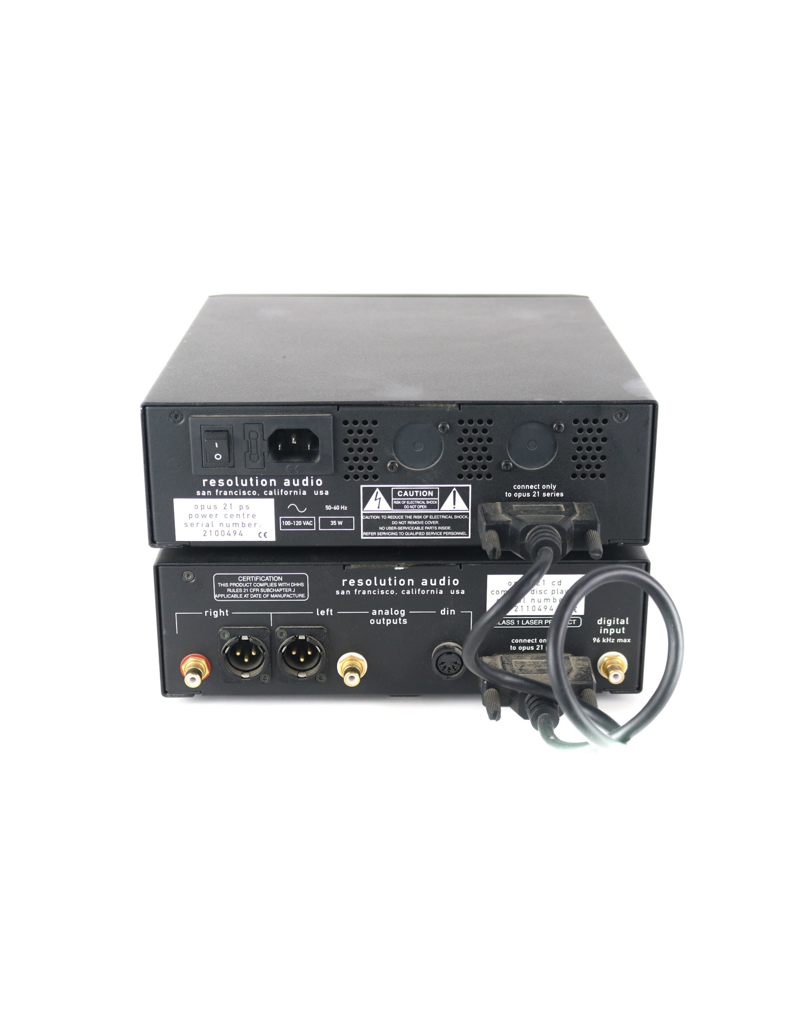 Resolution Audio Resolution Audio Opus 21 CD Player USED
