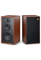 Wharfedale Wharfedale Linton 85th Anniversary Standmount Speakers Red Mahogany OPEN BOX