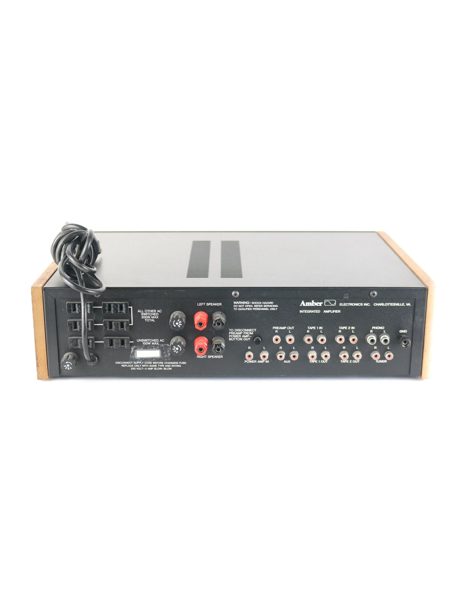 Amber Amber Series 50B Integrated Amp Black USED