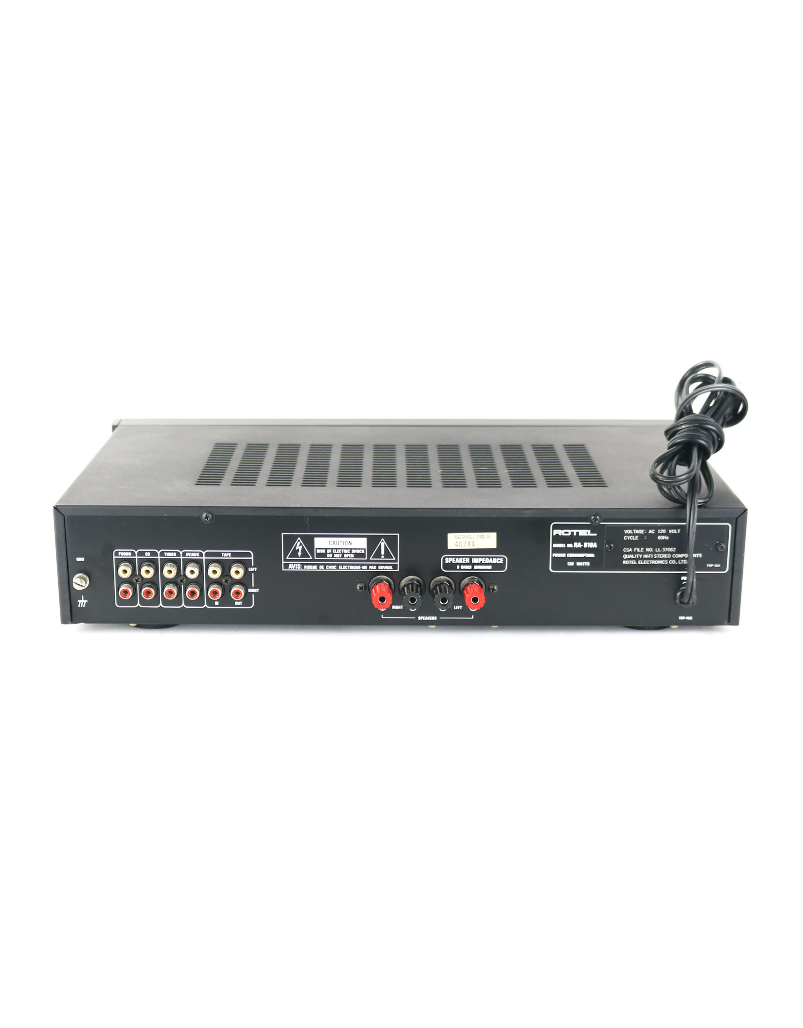 Rotel Rotel RA-810A Integrated Amp USED