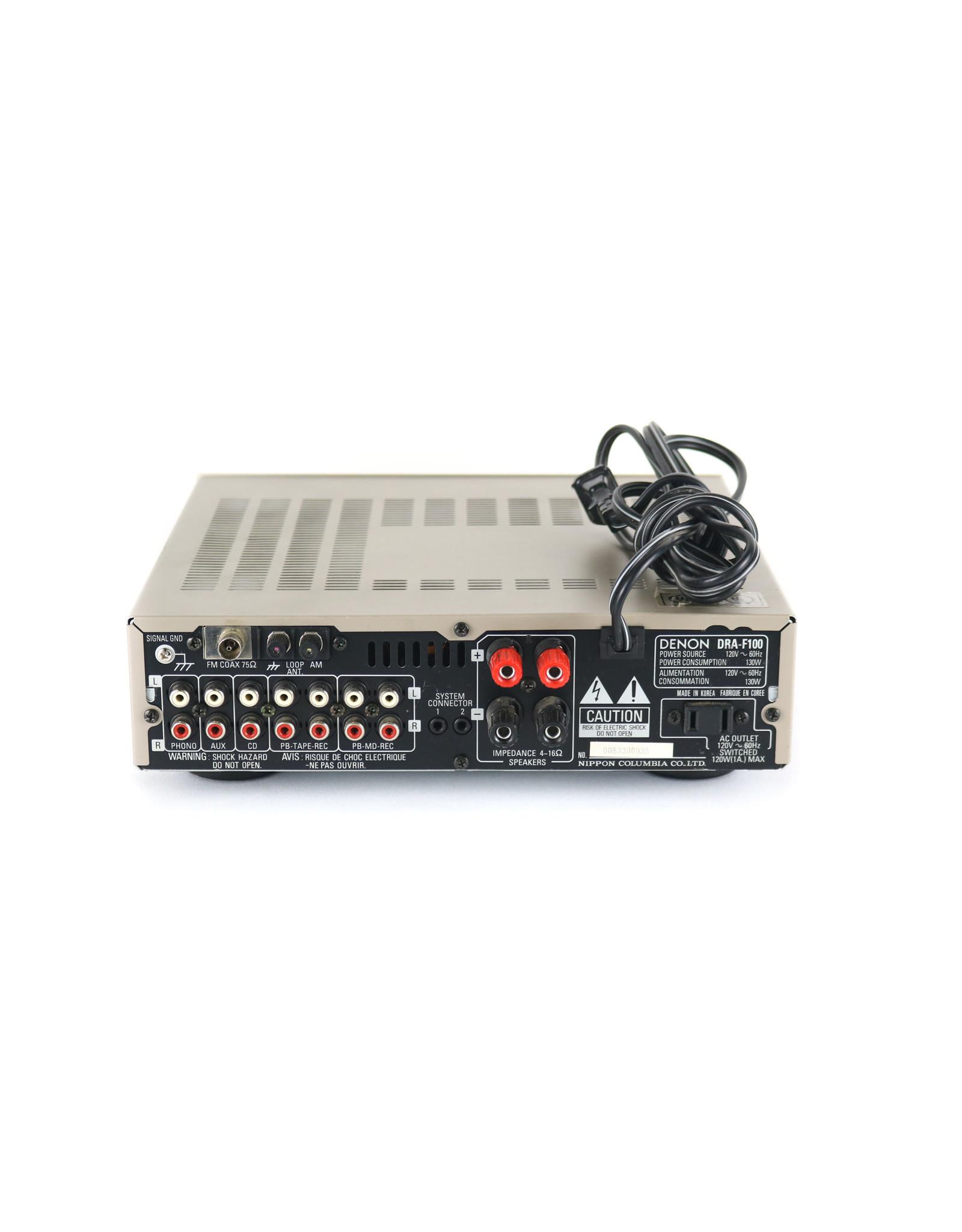 Denon Denon DRA-F100 Mini Receiver USED
