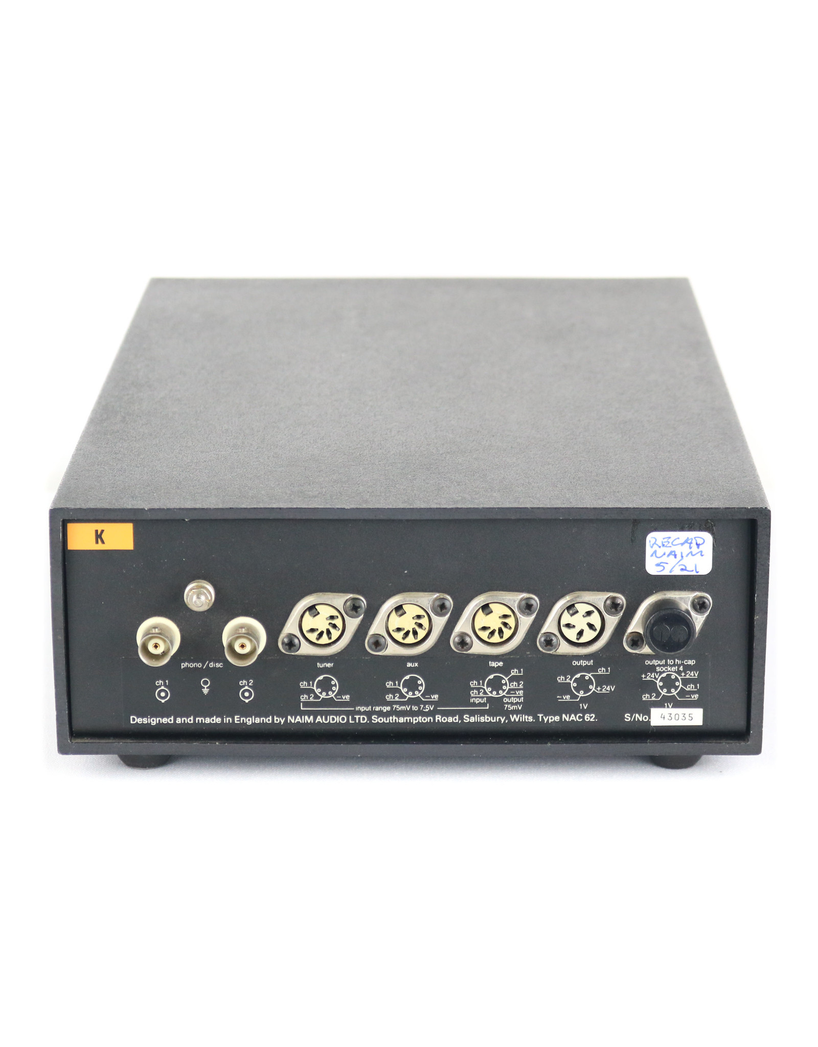Naim Audio Naim Audio NAC 62 Preamp (Recapped 2021) USED