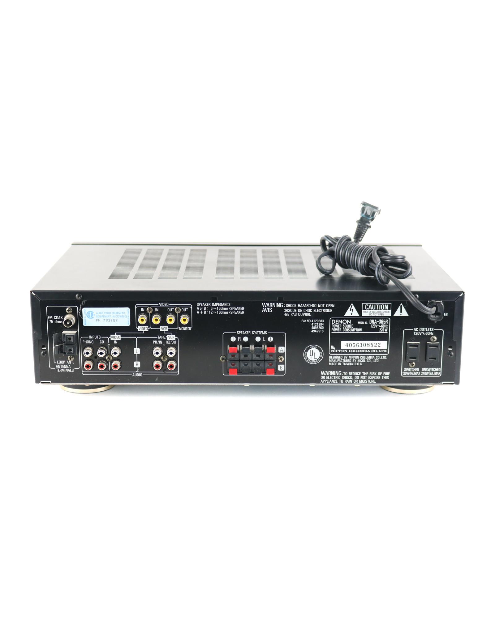 Denon Denon DRA-365R Receiver USED