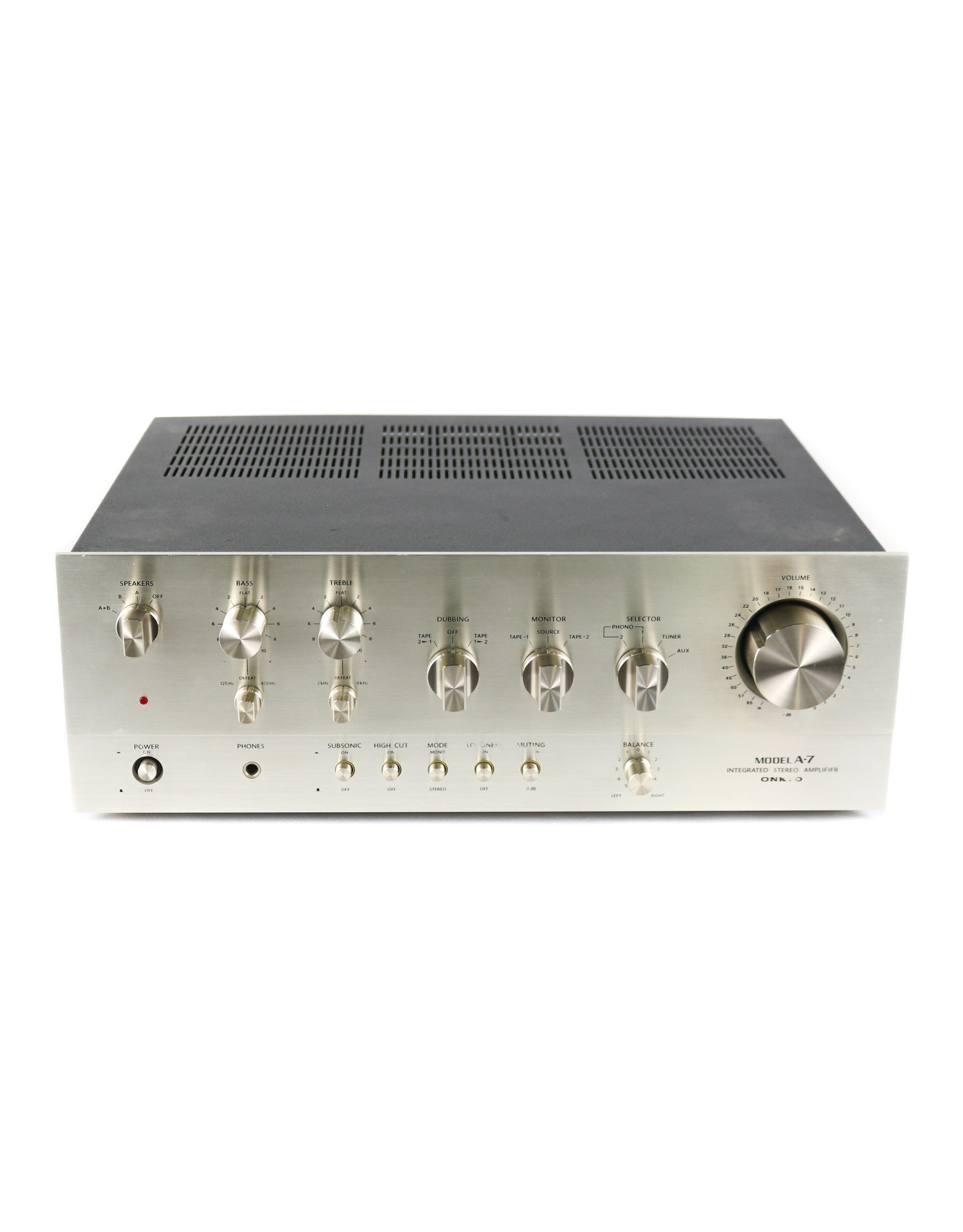 Onkyo Onkyo A-7 Integrated Amp USED