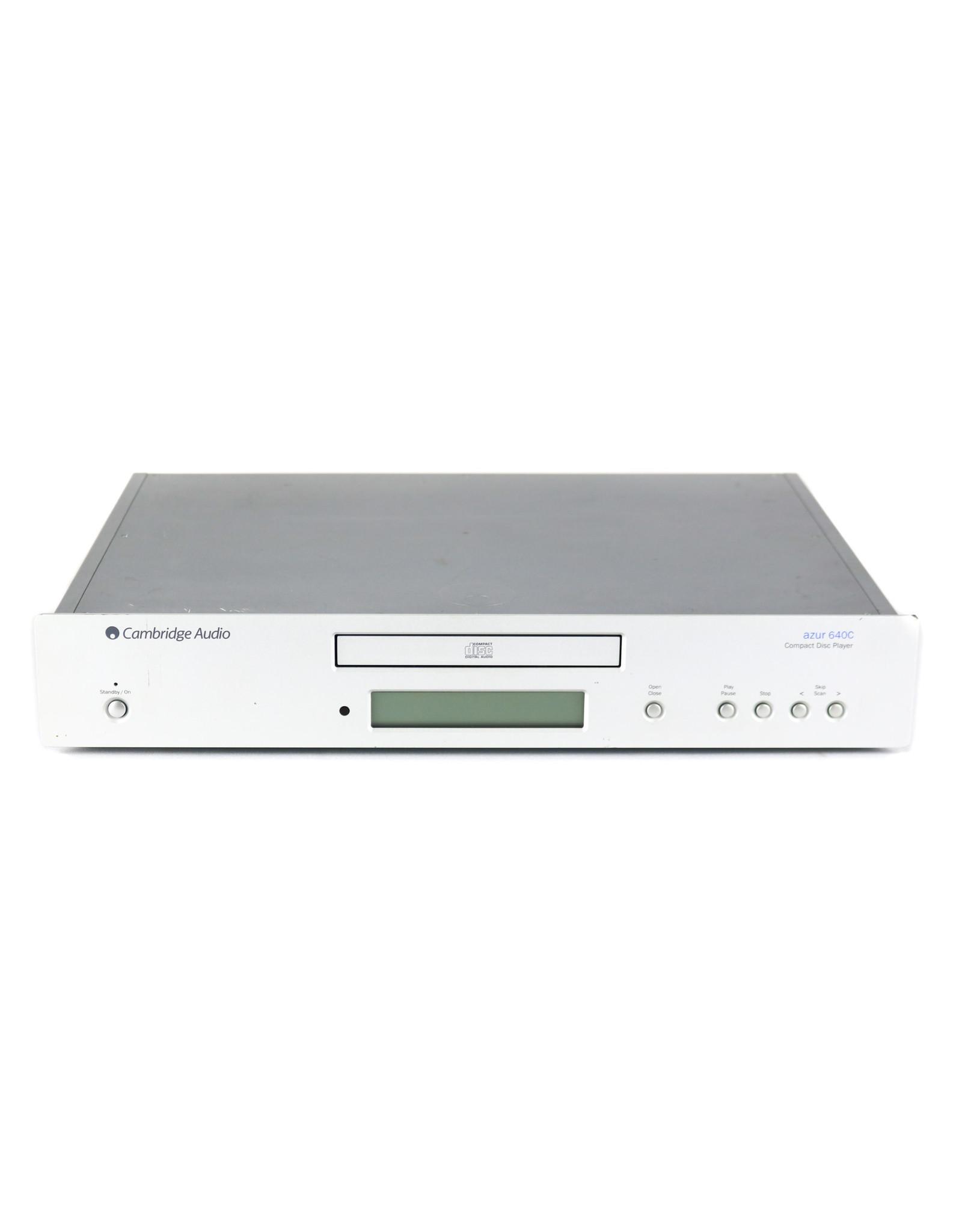 Cambridge Audio Cambridge Audio 640C CD Player Silver USED