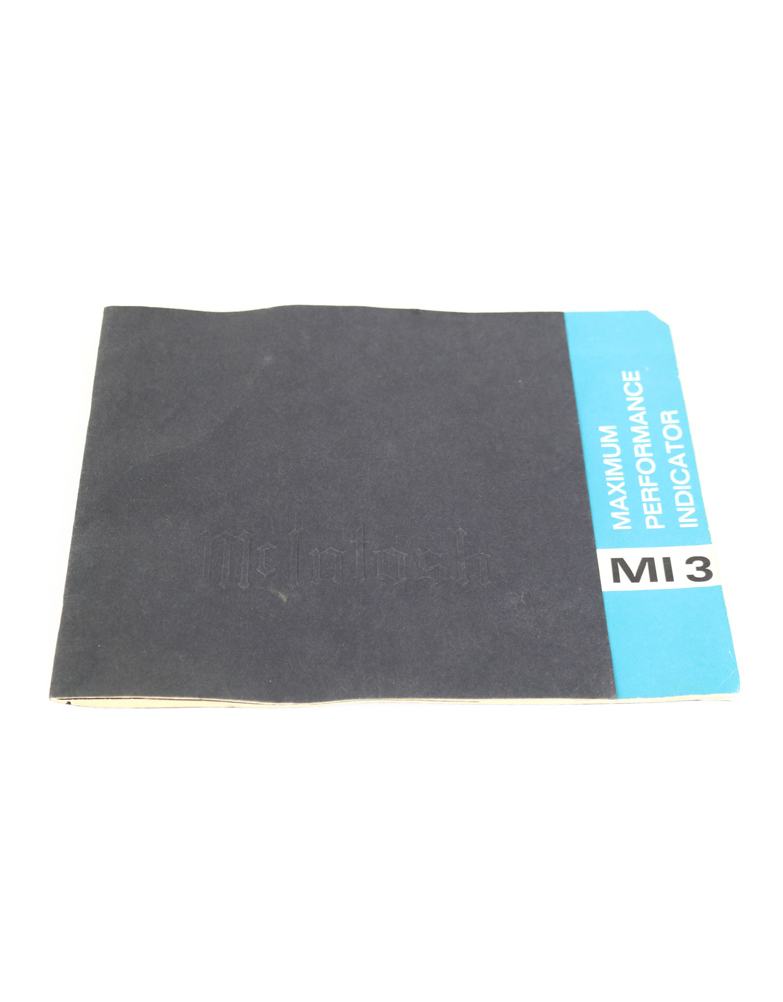 McIntosh McIntosh MI-3 Maximum Performance Indicator USED