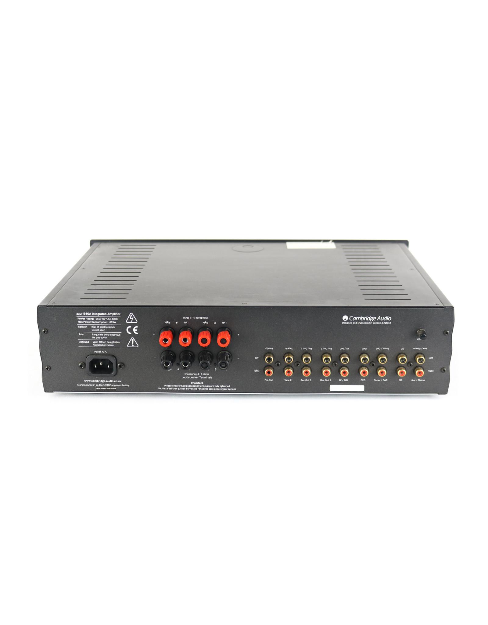 Cambridge Audio Cambridge Audio 540A Black Integrated Amp USED