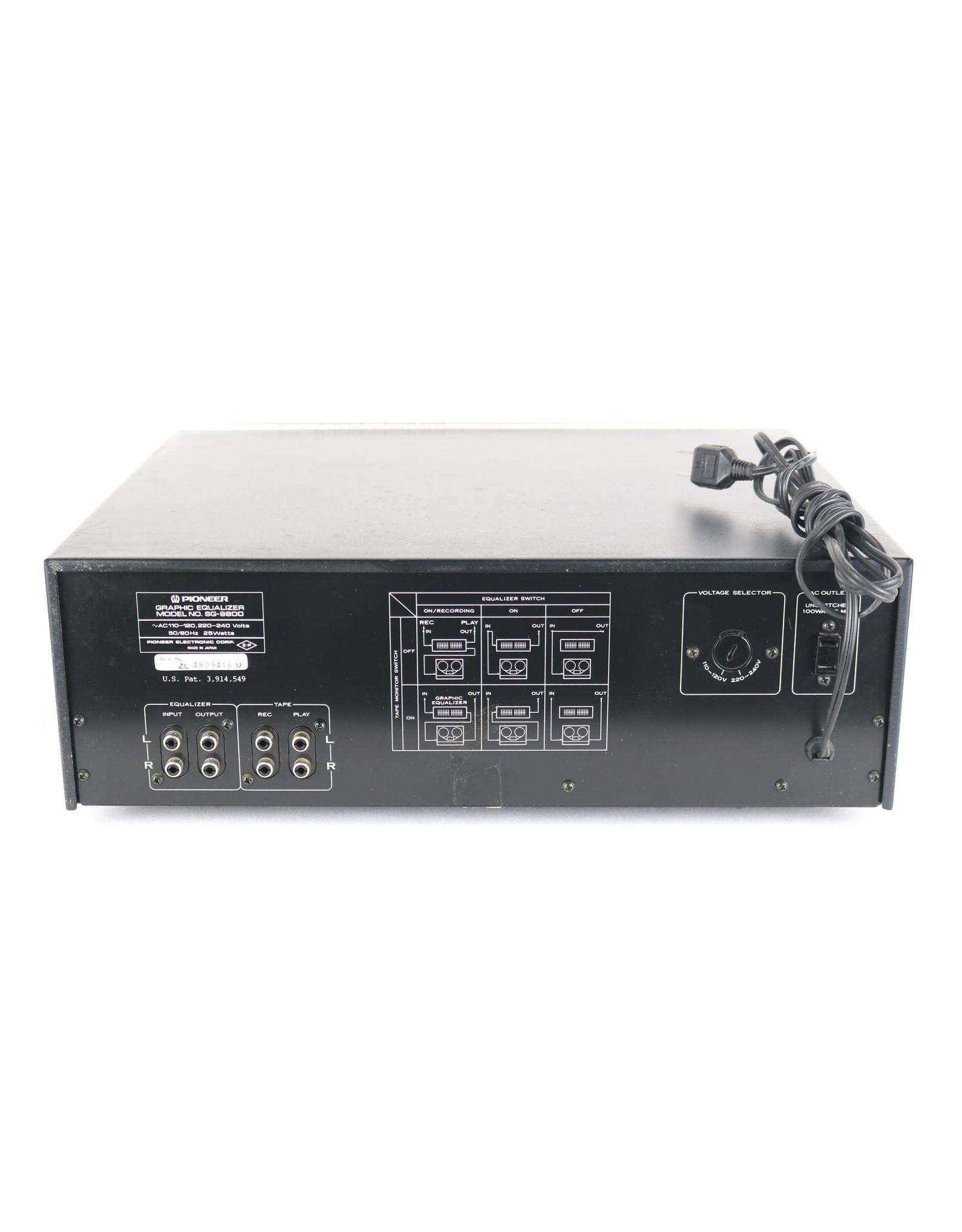 Pioneer Pioneer SG-9800 Equalizer USED