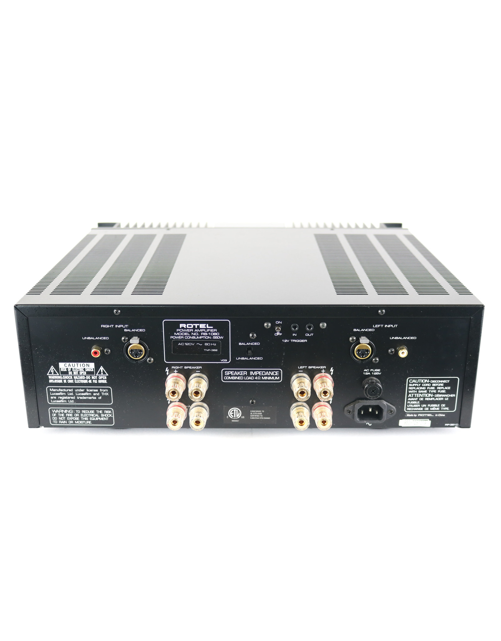 Rotel Rotel RB-1080 Power Amp USED