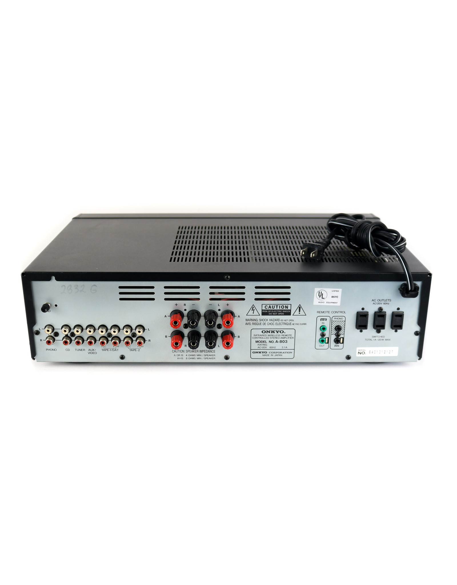 Onkyo Onkyo A-803 Integrated Amp USED
