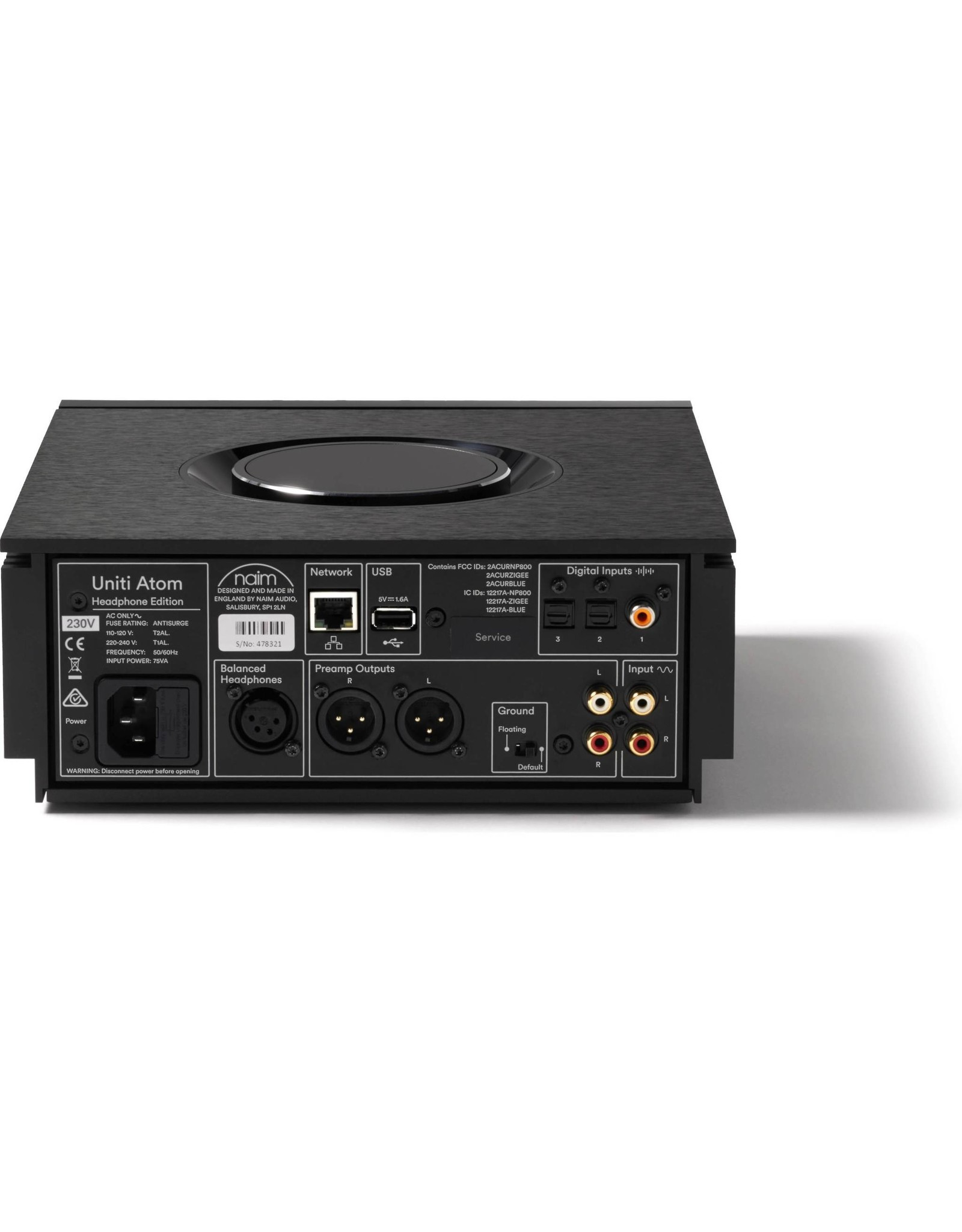 Naim Audio Naim Audio Uniti Atom Headphone Edition Network Player