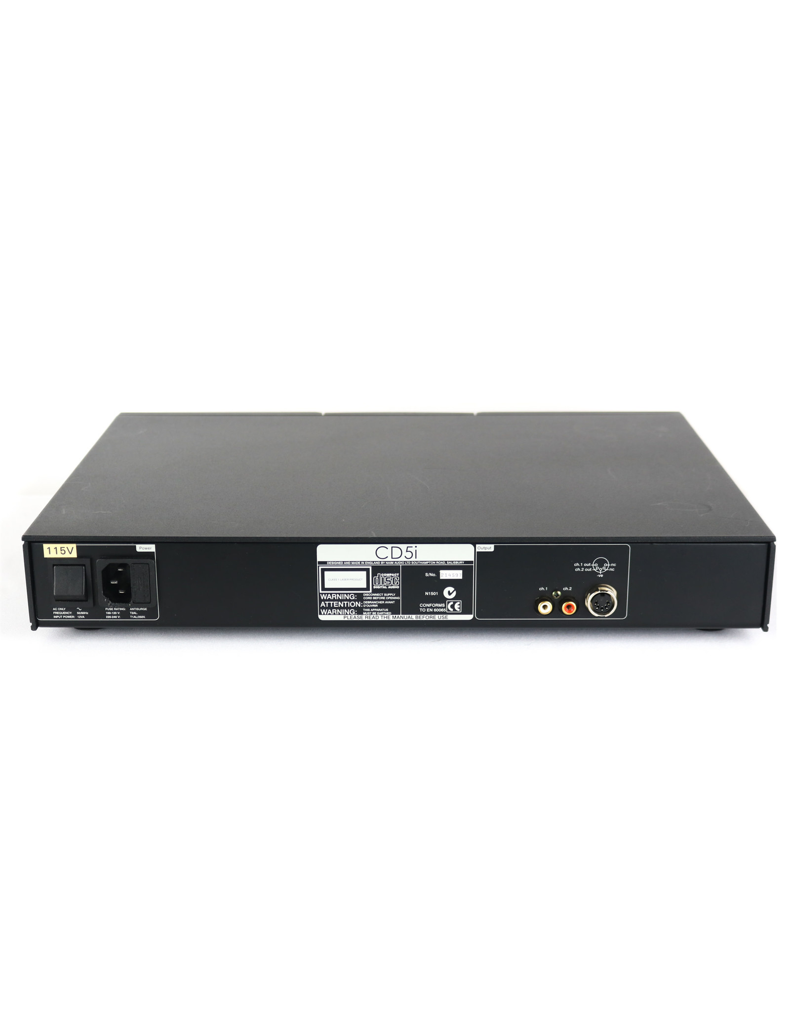 Naim Audio Naim Audio CD5i CD Player USED