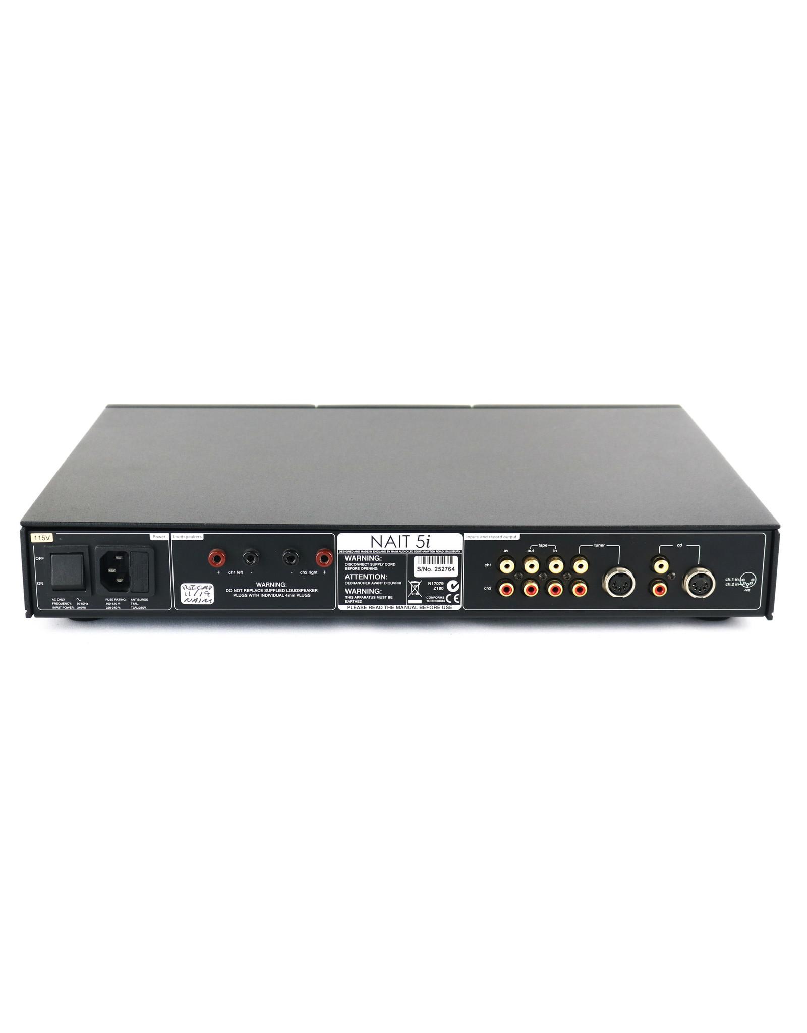 Naim Audio Naim Audio Nait5i Italic Integrated Amp USED