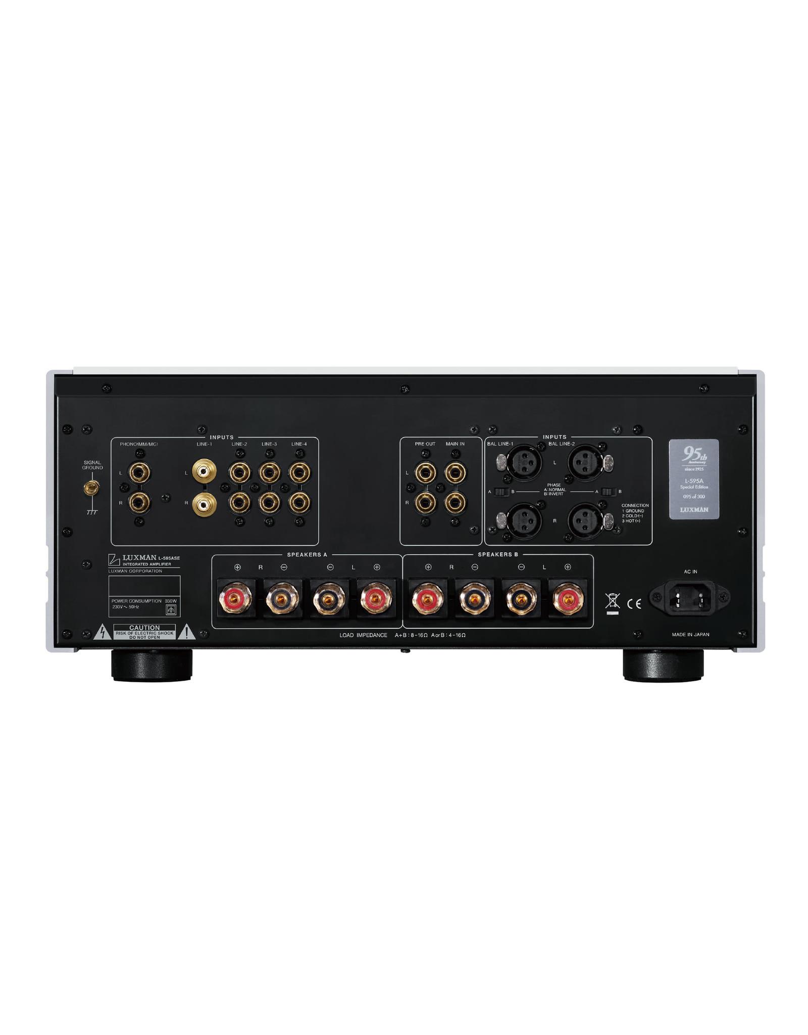 Luxman Luxman L-595ASE Class A Integrated Amplifier