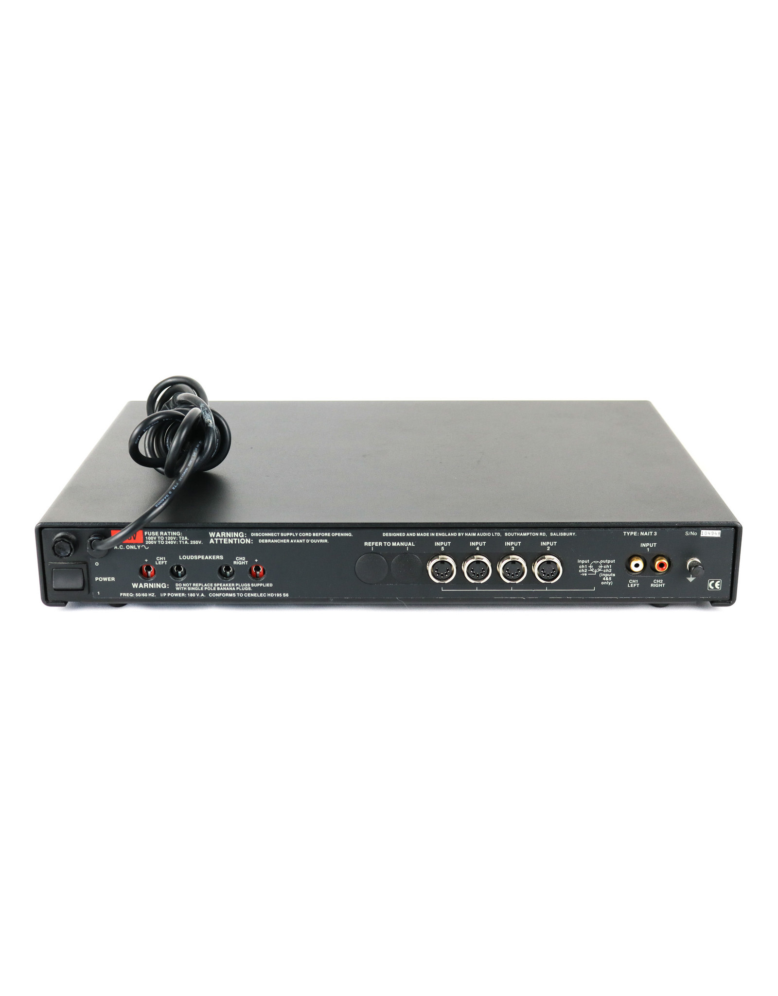 Naim Audio Naim Audio NAIT 3 Integrated Amp USED