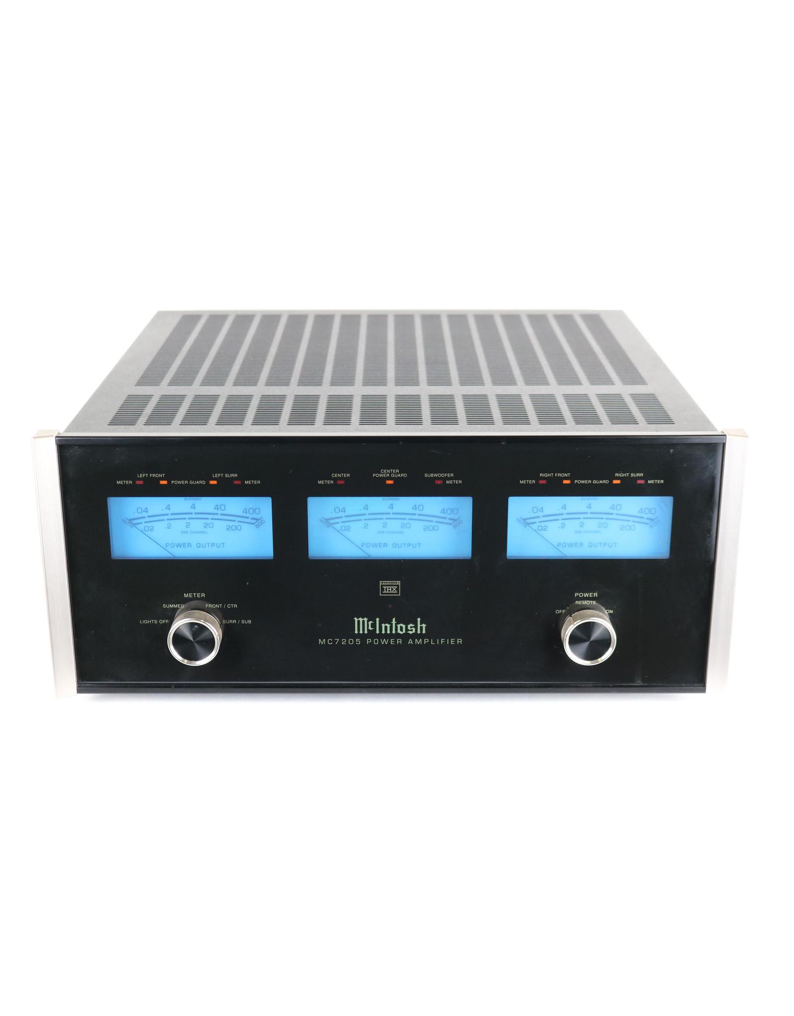 McIntosh McIntosh MC7205 5-Channel Power Amp USED