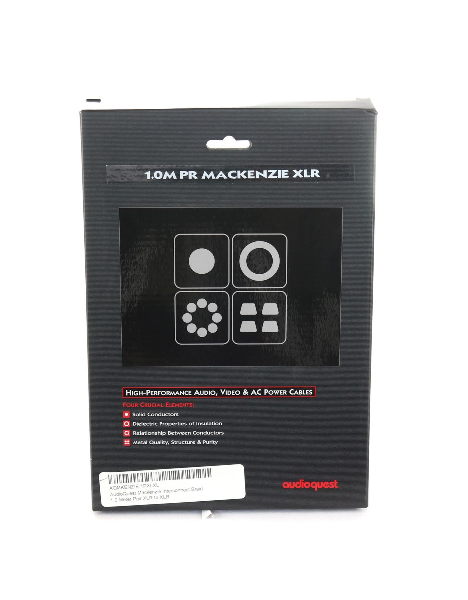 AudioQuest AudioQuest Mackenzie XLR Cable 1m Pair USED