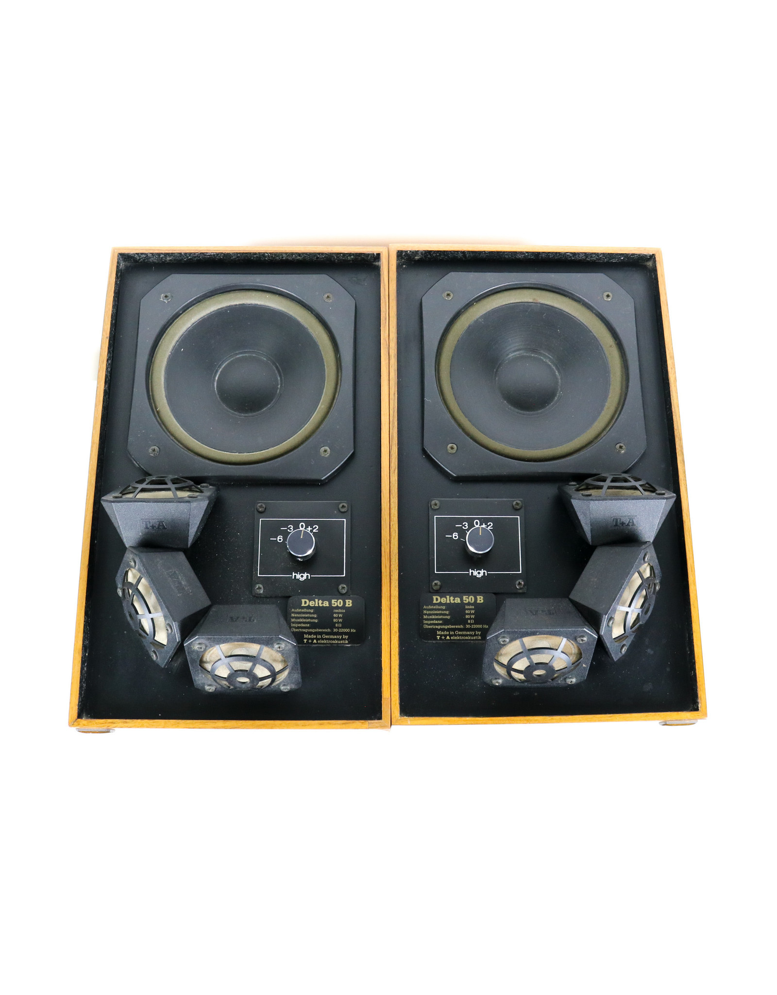 T+A T+A Delta 50B Floorstanding Speakers USED
