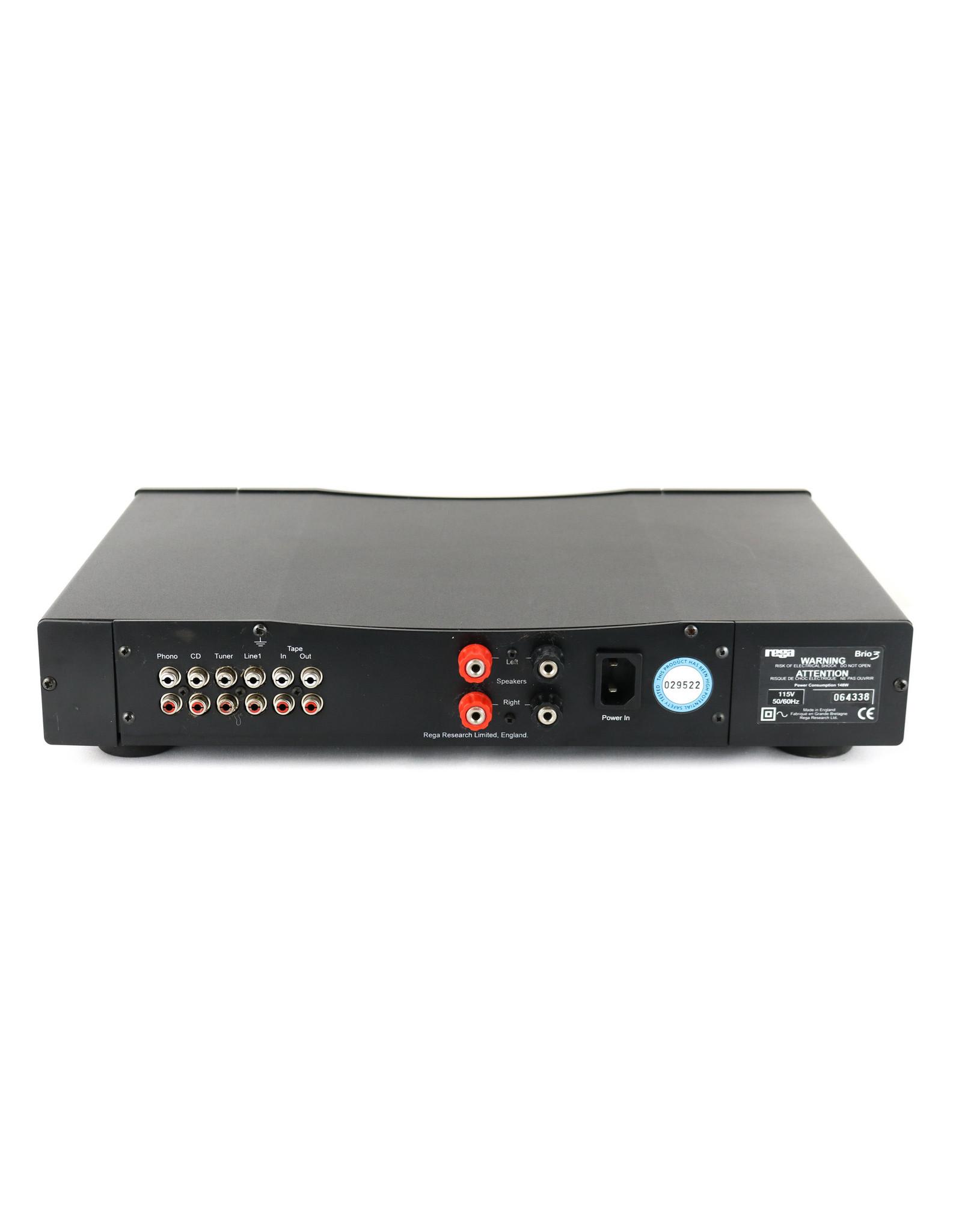 Rega Rega Brio 3 Integrated Amp Black USED