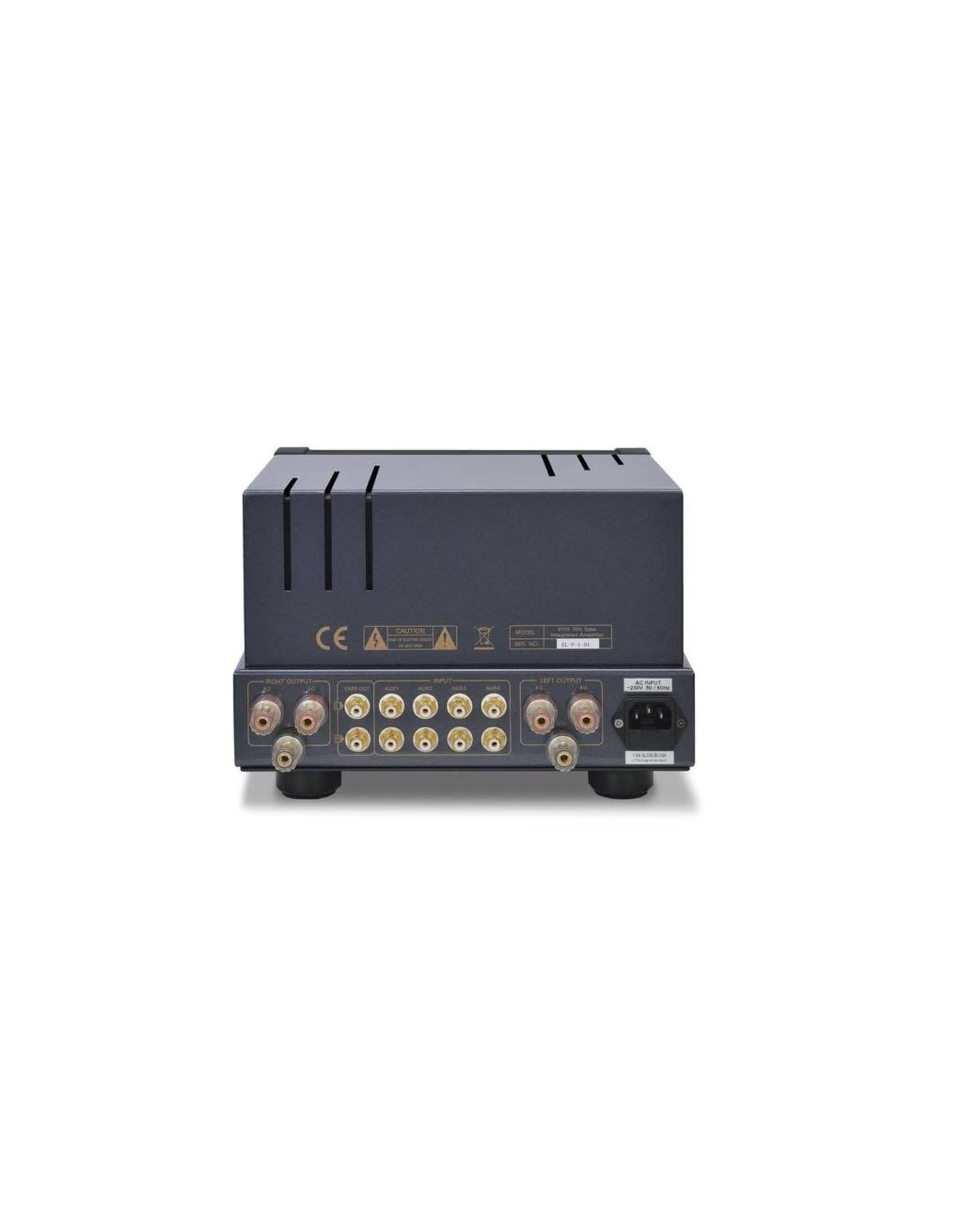 PrimaLuna PrimaLuna EVO 100 Tube Integrated Amplifier Silver OPEN BOX
