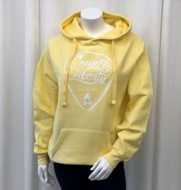 Country Liberty CL Soft Yellow Hoodie