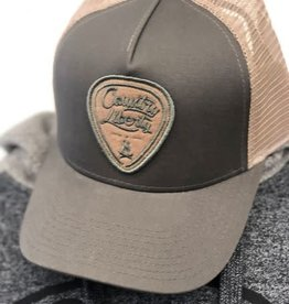 Country Liberty CL Ball Hat Grey beige