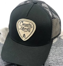 Country Liberty CL Ball Hat blk/Tan