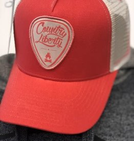 Country Liberty CL Ball Hat Coral