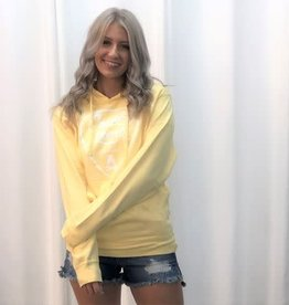 Country Liberty CL Pastel Yellow Hoodie