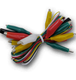10-Piece  Multi-Color Jumper Leads Ct800