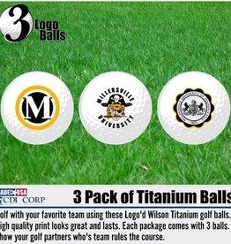 MU Golf Balls - 3pk